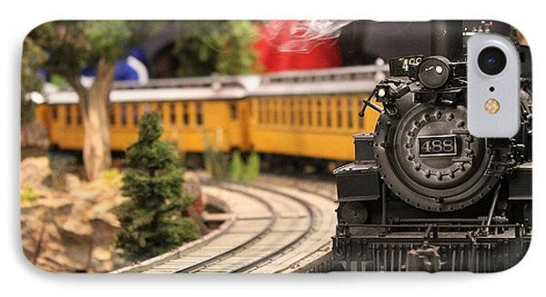 Model Train IPhone Case by Theresa Willingham