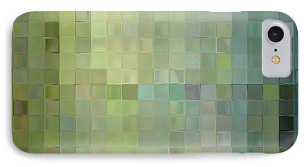Modern Tile Art One Modern Decor Collection IPhone Case