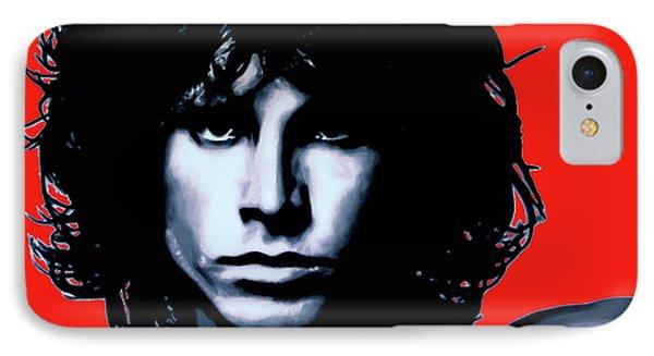 Morrison Phone Case by Luis Ludzska