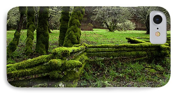 Mossy Fence 2 Phone Case by Bob Christopher