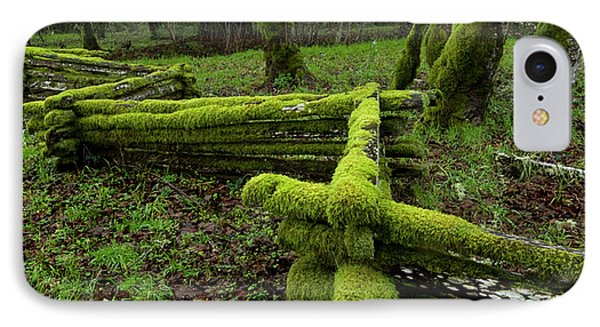 Mossy Fence 4 Phone Case by Bob Christopher