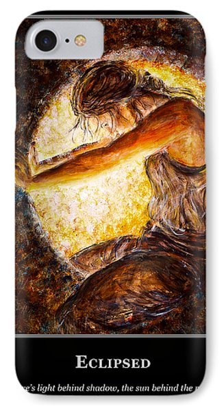IPhone Case featuring the painting Motivational Hope by Nik Helbig