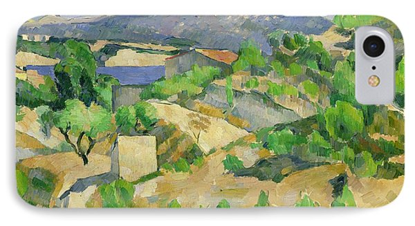 Mountains In Provence IPhone Case