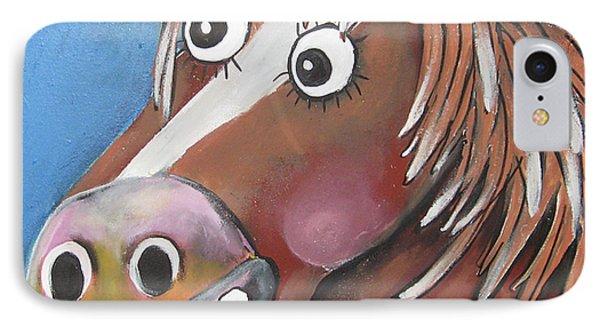 Mr Horse IPhone Case