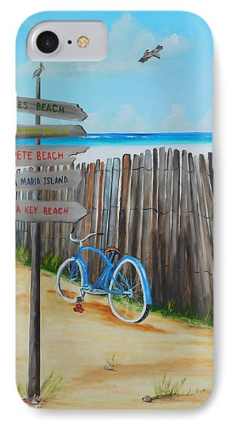My Favorite Beaches IPhone Case by Lloyd Dobson