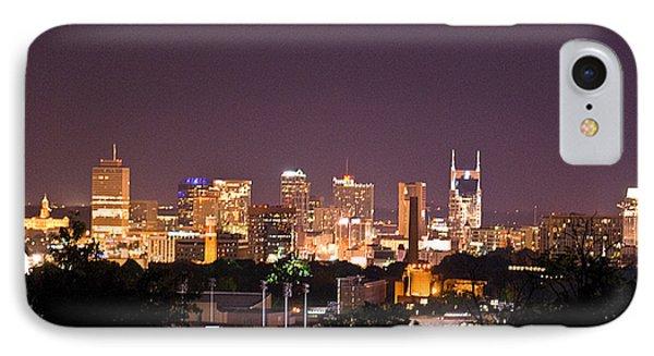 Nashville Cityscape 3 Phone Case by Douglas Barnett