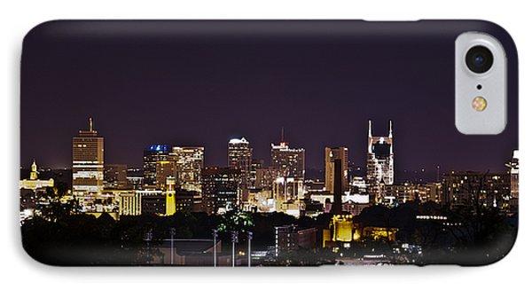 Nashville Cityscape 4 Phone Case by Douglas Barnett