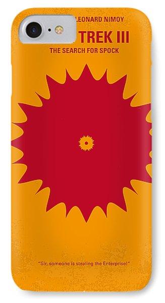 No083 My Star Trek 3 Minimal Movie Poster IPhone Case by Chungkong Art