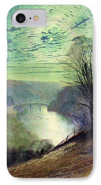 On The Tees Near Barnard Castle IPhone Case by John Atkinson Grimshaw