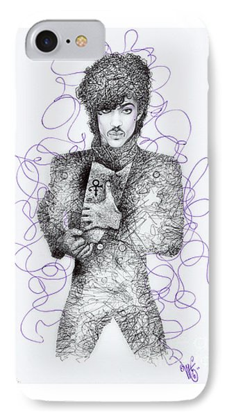Prince IPhone Case by Wave Art