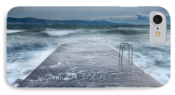 Raging Sea Phone Case by Evgeni Dinev