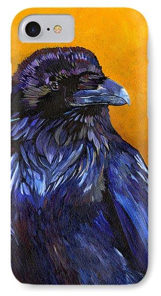 Raven IPhone Case by J W Baker