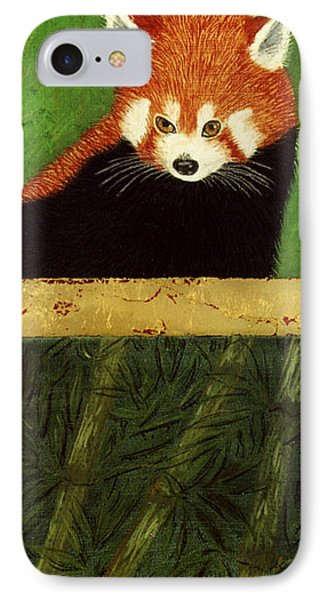 Red Panda And Bamboo IPhone Case