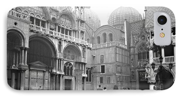 San Marco Piazza And Basilica In Venice IPhone Case by Emanuel Tanjala