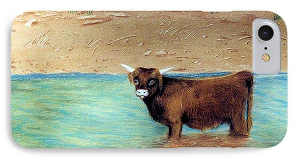Scottish Highland Bull IPhone Case
