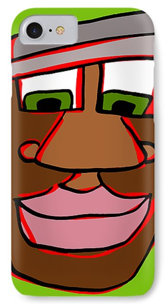 Shaun In Color IPhone Case by Jera Sky