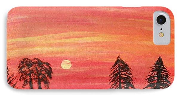 Sunset Glow Phone Case by Jeannie Atwater Jordan Allen
