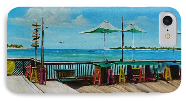 Sunset Pier Tiki Bar - Key West Florida IPhone Case by Lloyd Dobson