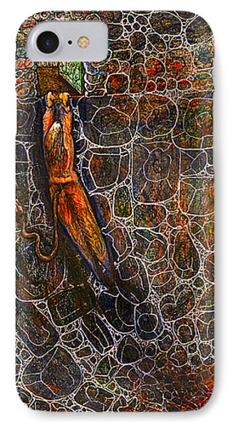 The Beast Steps Into The Old Man's Cabin Phone Case by Al Goldfarb