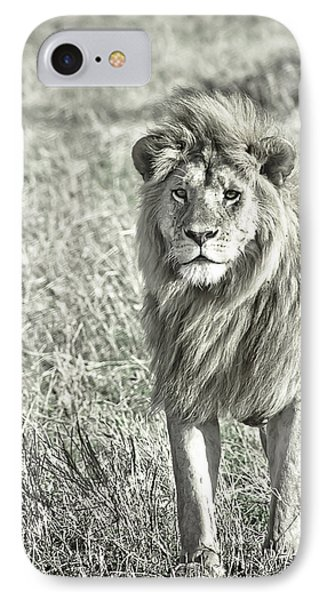 The King Stands Tall IPhone Case by Darcy Michaelchuk