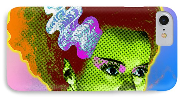 The Monster's Bride IPhone Case by Gary Grayson