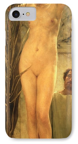 The Sculptor's Model IPhone Case by Sir Lawrence Alma-Tadema