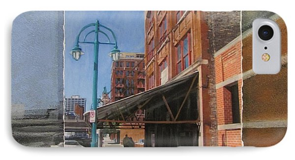 Third Ward - Market Street Phone Case by Anita Burgermeister