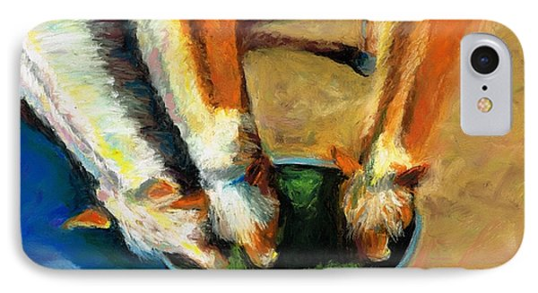 Three Palominos Phone Case by Frances Marino