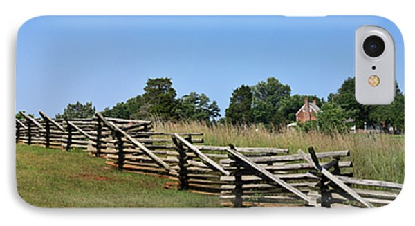 View Of Clover Hill Tavern Appomattox Court House Virginia Phone Case by Teresa Mucha