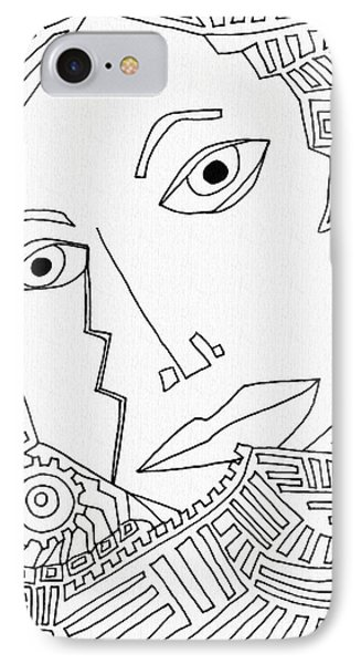 Weeping Woman Phone Case by Sarah Loft