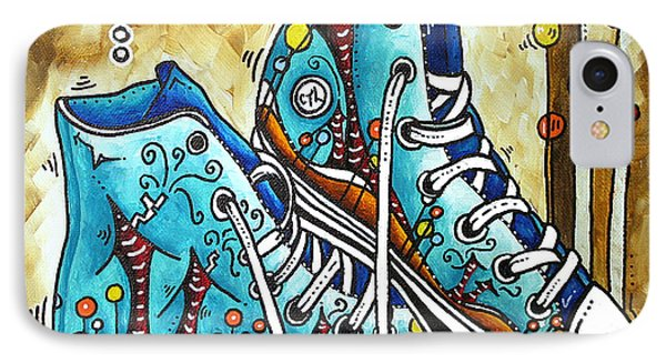 Whimsical Shoes By Madart Phone Case by Megan Duncanson