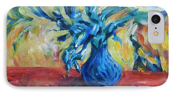 IPhone Case featuring the painting Wild Flower by Yulia Kazansky