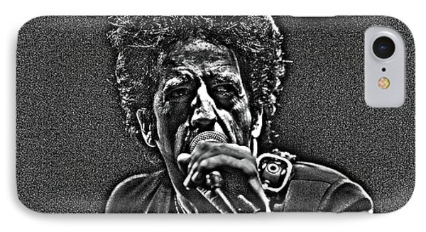 IPhone Case featuring the digital art Willie Nile by Jeff Ross