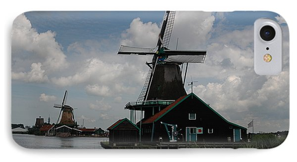 IPhone Case featuring the photograph Windmill 3 by Vilas Malankar