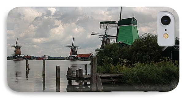 IPhone Case featuring the photograph Windmills 2 by Vilas Malankar