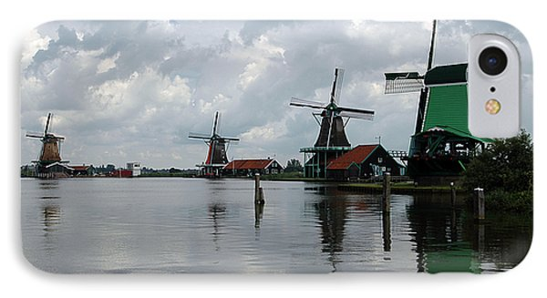 IPhone Case featuring the photograph Windmills by Vilas Malankar