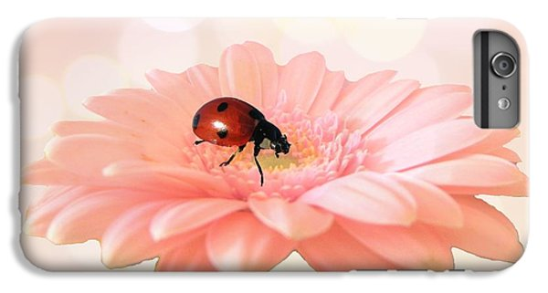 Daisy iPhone 7 Plus Case - Lady On Pink by Sharon Lisa Clarke