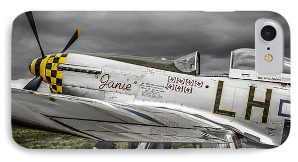 Stormy Sky Mustang IPhone Case