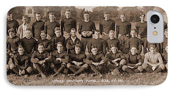 Catholic University Football Team, Oct IPhone Case