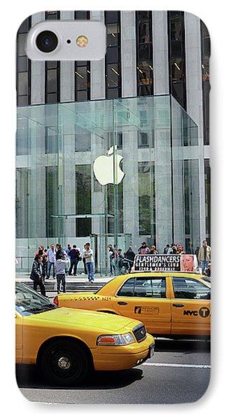 Apple Store In 5th Avenue, Manhattan IPhone Case