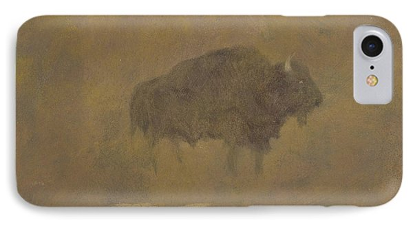 Buffalo In A Sandstorm IPhone Case