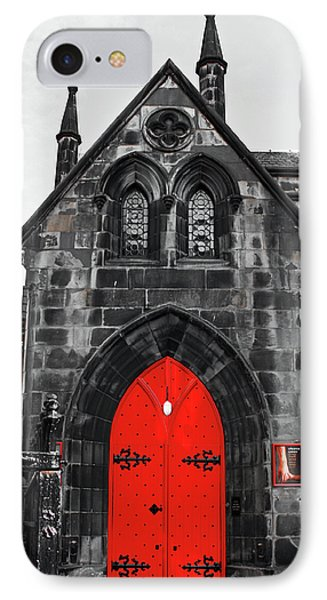 Edinburgh Door IPhone Case