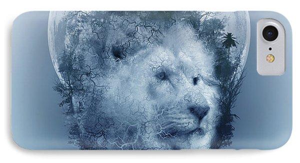 Lion 2 IPhone Case