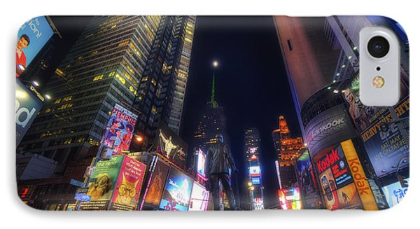 Times Square Moonlight IPhone Case