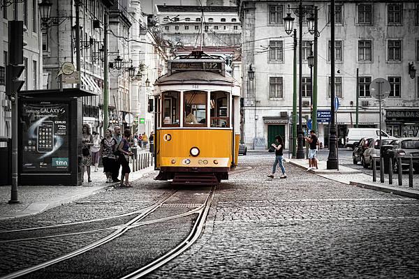 Lisboa Tram II Poster