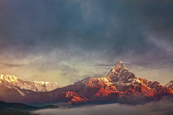 Sunrise On Anapurna Poster