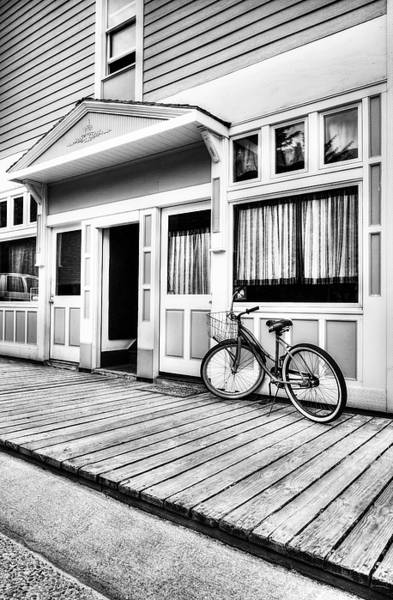 Photograph - Downtown Skagway 4 Bw by Mel Steinhauer
