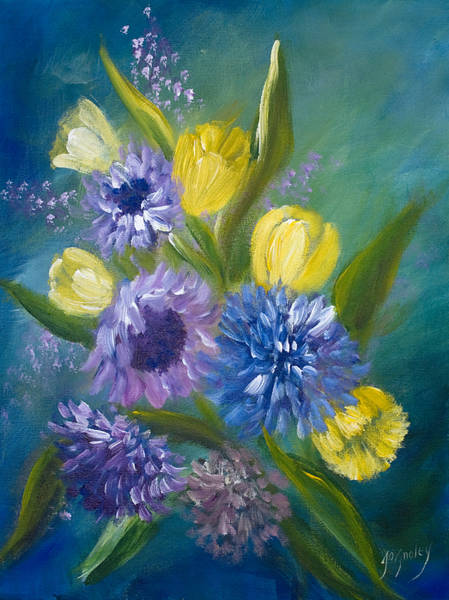 Painting - Bonnie Bouquet by Joanne Smoley