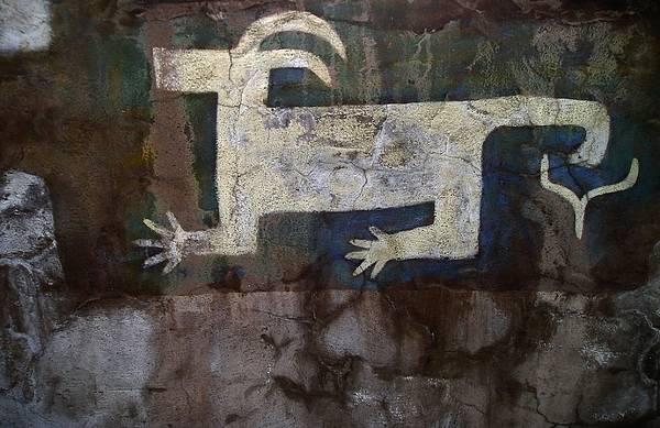 Wall Art - Photograph - Glyph Animal - Gc136 by Eve Paludan