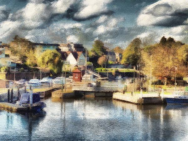 Riverview V Art Print